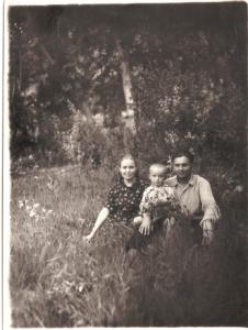 Мама, отец. Гава. 1954 год.