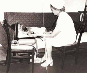Обследование пациента. 1976 год.