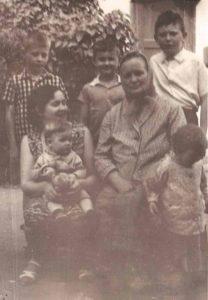 Анна Ивановна, Галина, Толик, Жорик, Витя. Ташкент. 1966 год.