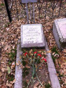 Могила бабули на Боткинском кладбище.
