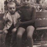 Алик и Толик. Наманган. 1959 год.