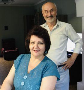 Фархад и Эля - наши крёстные