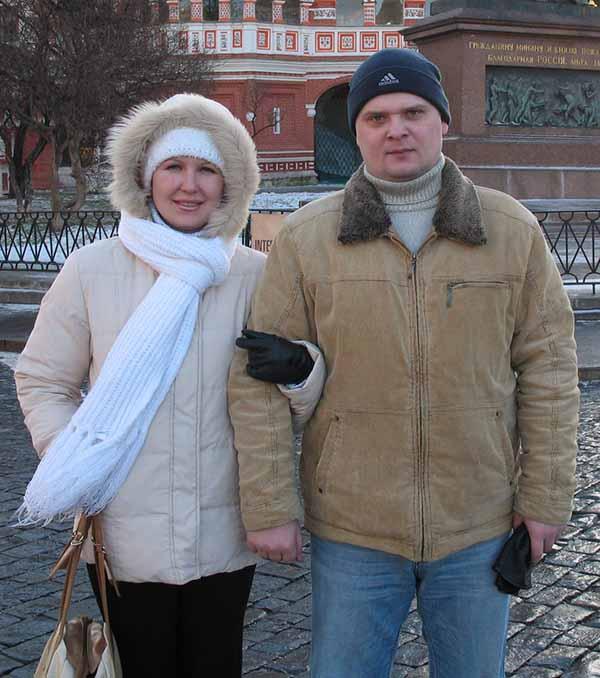 Алексей и Ольга Недоступовы